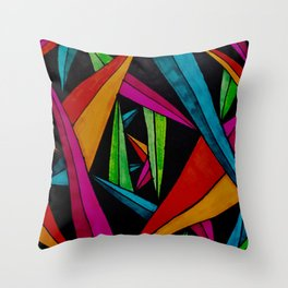Stalactites and Stalagmites Throw Pillow