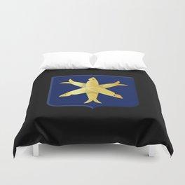 Coat of arms of Zandvoort Duvet Cover