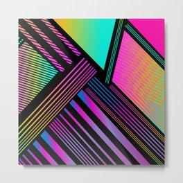 Exo Prism Metal Print