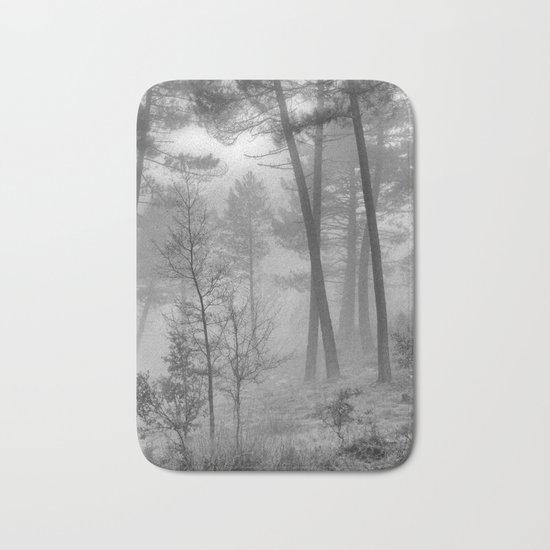 """""""Into The Woods"""" Dream Forest II Bath Mat"""