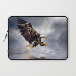 Bald Eagle swooping Laptop Sleeve