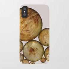 Wood Wood 1 iPhone X Slim Case