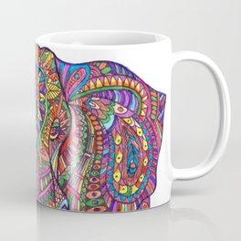 Elephant Mandala safari pattern Coffee Mug