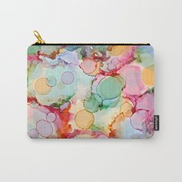 Rainbow Bubbles Carry-All Pouch