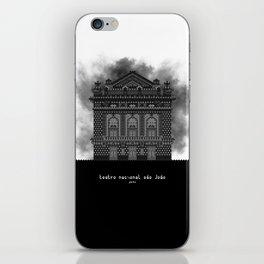 HexArchi - Portugal, Porto, Teatro Nacional São João iPhone Skin