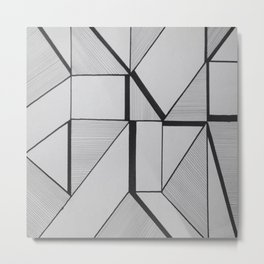 Restrictive Fluster Metal Print