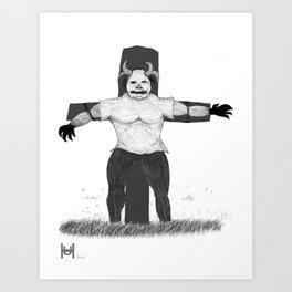 Scare Crow Art Print