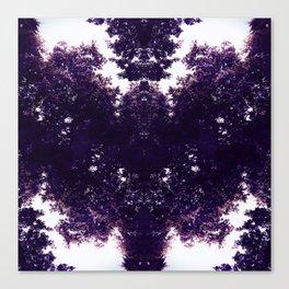 Tiles & Motifs - Purple Dragon Canvas Print