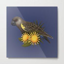 Rüppell's Parrot Metal Print