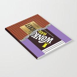 Wonka's Golden Ticket Chocolate Notebook