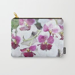 Orchid - Miltoniopsis Carry-All Pouch