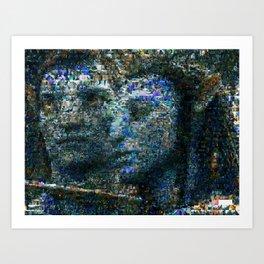 Avatar Mosaic Art Print