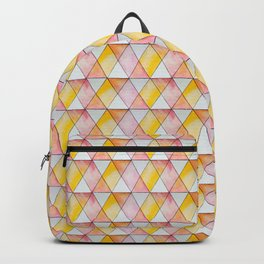 gentle watercolor pattern Backpack