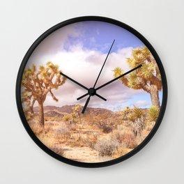 Three Joshuas Wall Clock