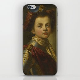 Attributed to Giacomo Ceruti PORTRAIT OF A YOUNG BOY, BUST LENGTH, DRESSED IN ARMOR iPhone Skin