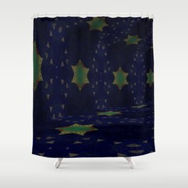 Iconic Hollows 14 Shower Curtain