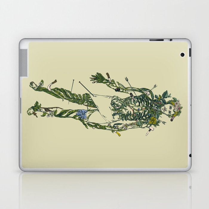Wound Man Laptop & iPad Skin