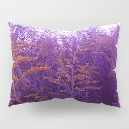 Blue and Yellow Goldenrod Pillow Sham