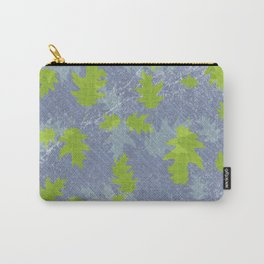 Fresh green oak leaves Carry-All Pouch