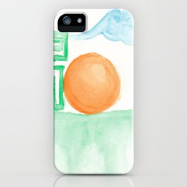 Morning Elementals iPhone Case