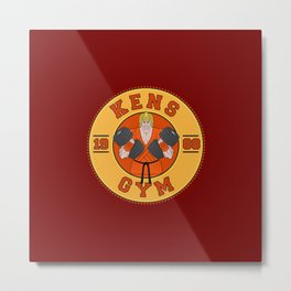 Ken's Gym Metal Print
