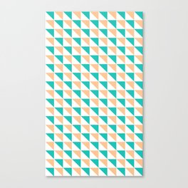 Simply Triangles Canvas Print