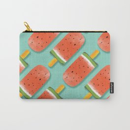 Watermelon Popsicles Pattern #society6 #decor #buyart Carry-All Pouch