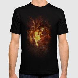cosmic lion T-shirt
