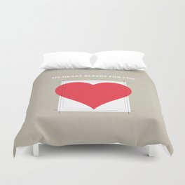 My Heart bleeds for you Duvet Cover