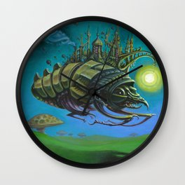 """Exodus"" -Adam France Wall Clock"