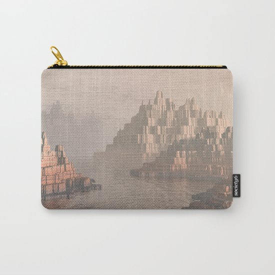 Canyon Landscape With River Carry-All Pouch