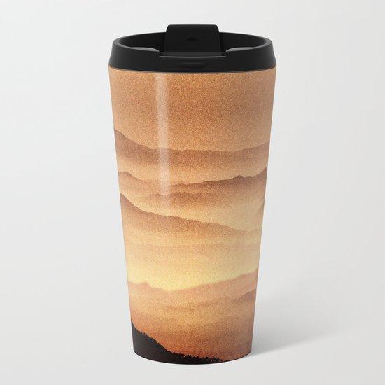 Red Noise Isolation Series Metal Travel Mug
