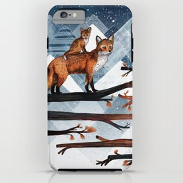 Fox Wood iPhone Case