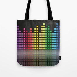 EQUALIZER Pop Art Tote Bag