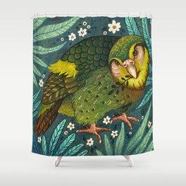 Kakapo Shower Curtain