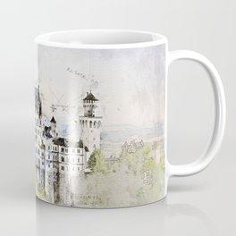 Neuschwanstein Castle, Bavaria Germany Coffee Mug