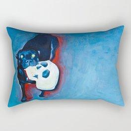 HOT NIGHT HOUND Rectangular Pillow