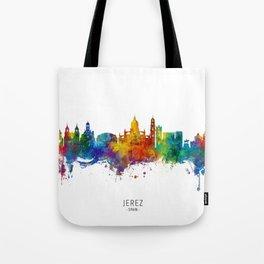 Jerez Spain Skyline Tote Bag