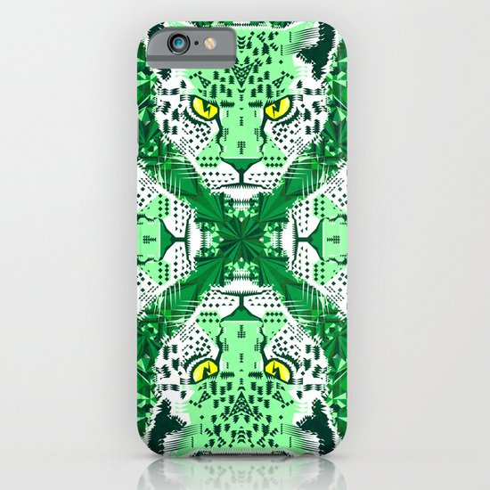 Emerald Leopard  iPhone & iPod Case