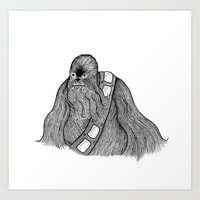 A Wookie Art Print