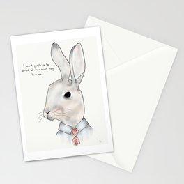 jimmy rabbit Stationery Cards