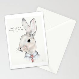 jimmy rabbit Stationery Cards