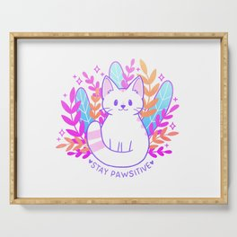 Pawsitive Cat Serving Tray