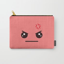 ANGRY! Kawaii Face (Check Out The Mugs!) Carry-All Pouch