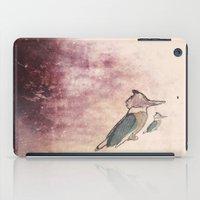 birdy iPad Cases featuring Birdy by Caroline Campeau