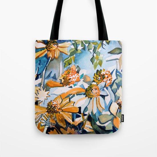 Carnival of Daisies Tote Bag