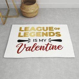 LoL Is My Valentine Rug
