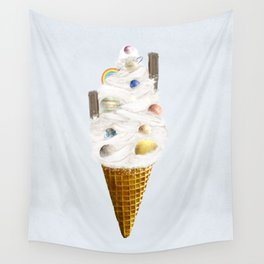 galaxy cone Wall Tapestry