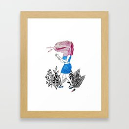 Grrr! Framed Art Print