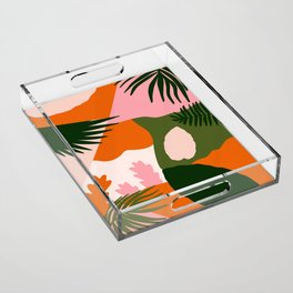 Tropical Island Acrylic Tray